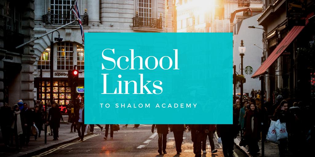St Augustine's links to Shalom Academy